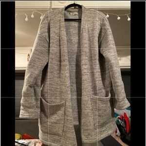 MEC fleece lined sweater